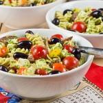 Salami Pesto Pasta