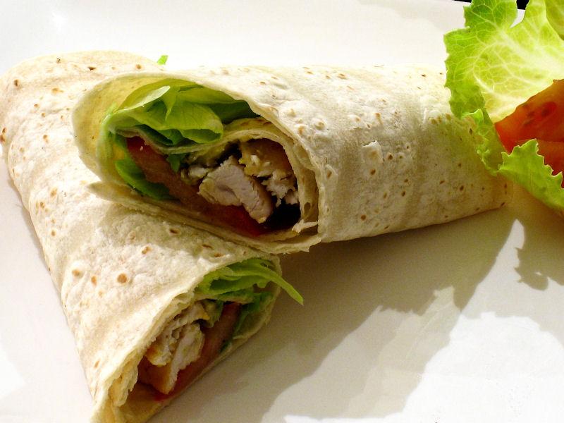 Chicken Avocado Wraps