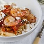 Grilled Prawn Spaghetti