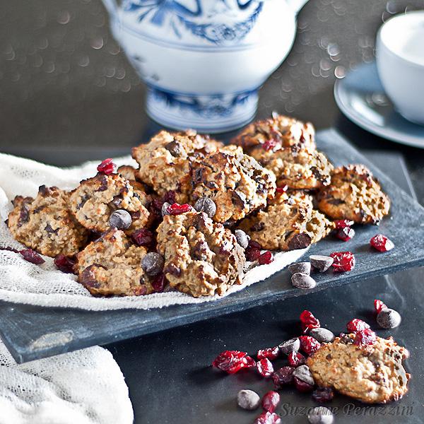 Granola Cranberry Choc Cookies - a Gluten-Free Recipe