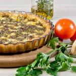 Tomato & Pesto Tart