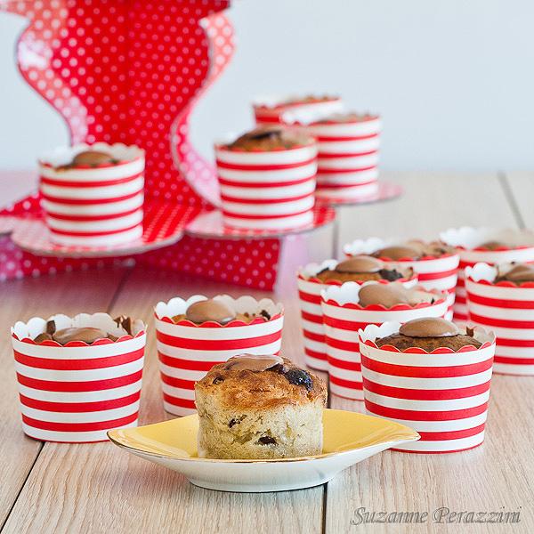 Banana Cranberry, Chocolate, Coconut Muffins -  dairy free & sugar-free