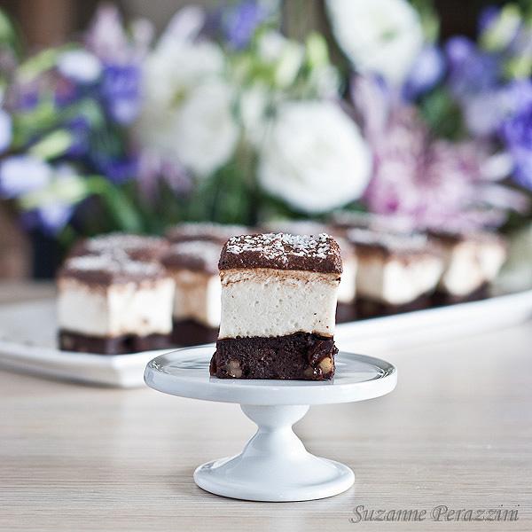 Chocolate Marshmallow Slice - gluten, dairy and refined sugar-free