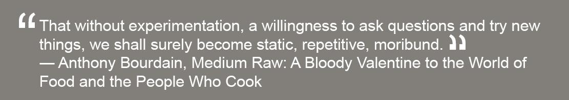 Anthony Bourdain quote