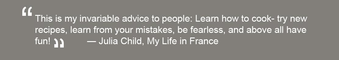 Julia Child quote