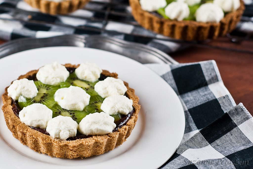 Kiwi fruit tarts - gluten-free & low FODMAP