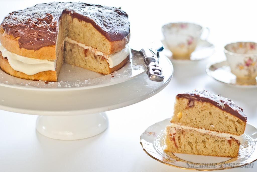 Chocolate, Vanilla Cake – gluten-free & low FODMAP