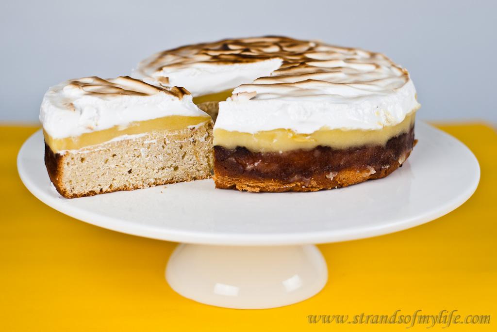 Lemon Polenta Cake - gluten-free