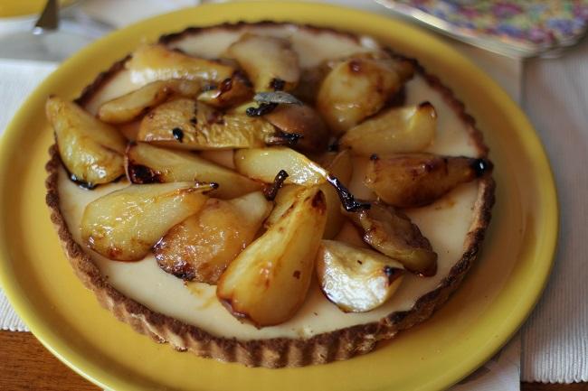 My Kitchen Stories - lemon curd tart