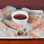 Thai Pork in Rice Papers – gluten-free & low FODMAPs
