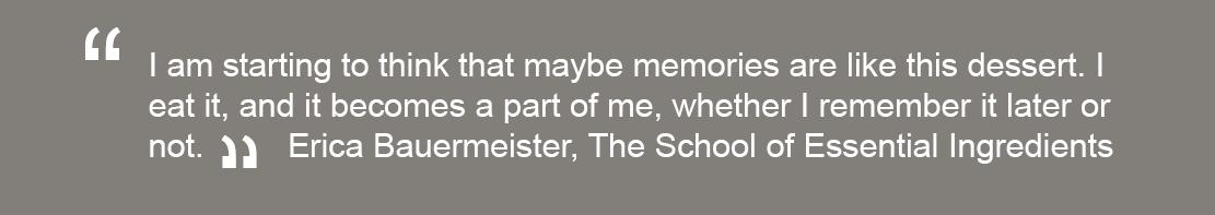 Erica Bauermeister quote