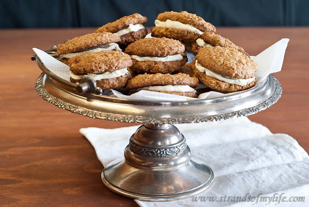 Oatmeal Whoopie Pies - gluten-free & Low FODMAP
