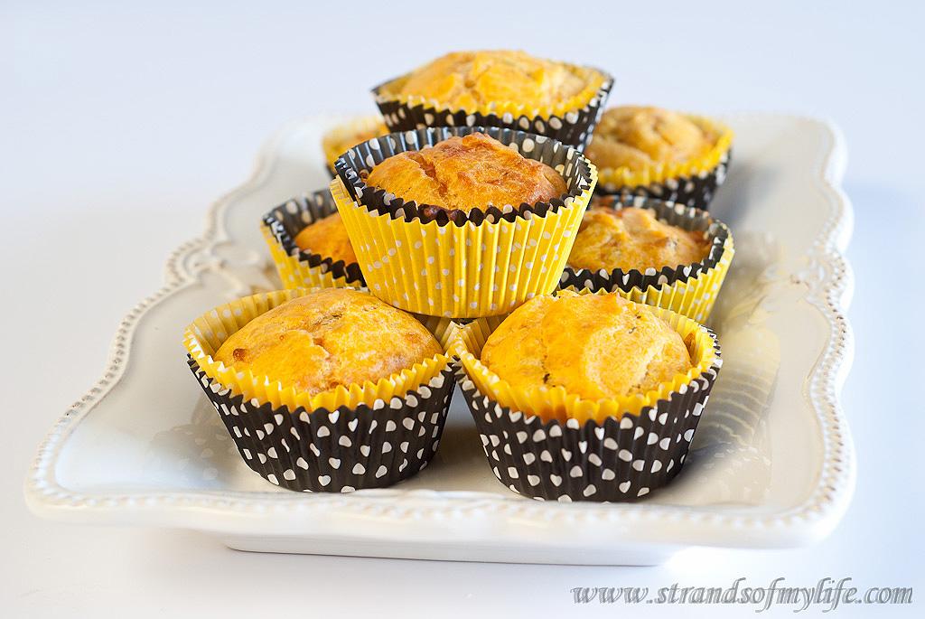 Kumara cheese muffins - gluten-free and low FODMAP