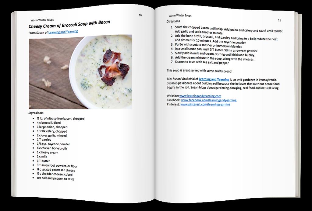 Winter Soups - Community Cookbook