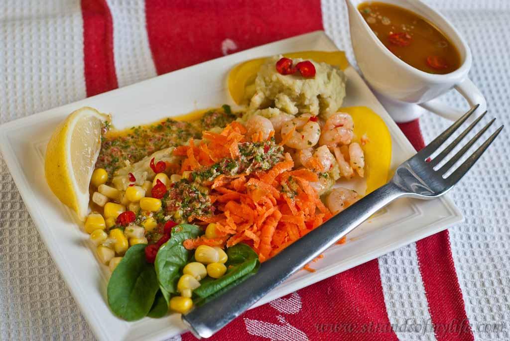 Thai Prawn Salad - low Fodmap