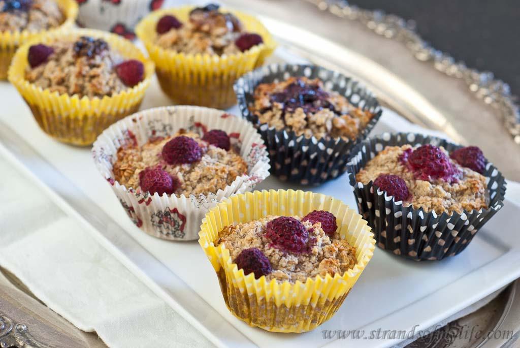 Oatmeal cupcakes - low Fodmap