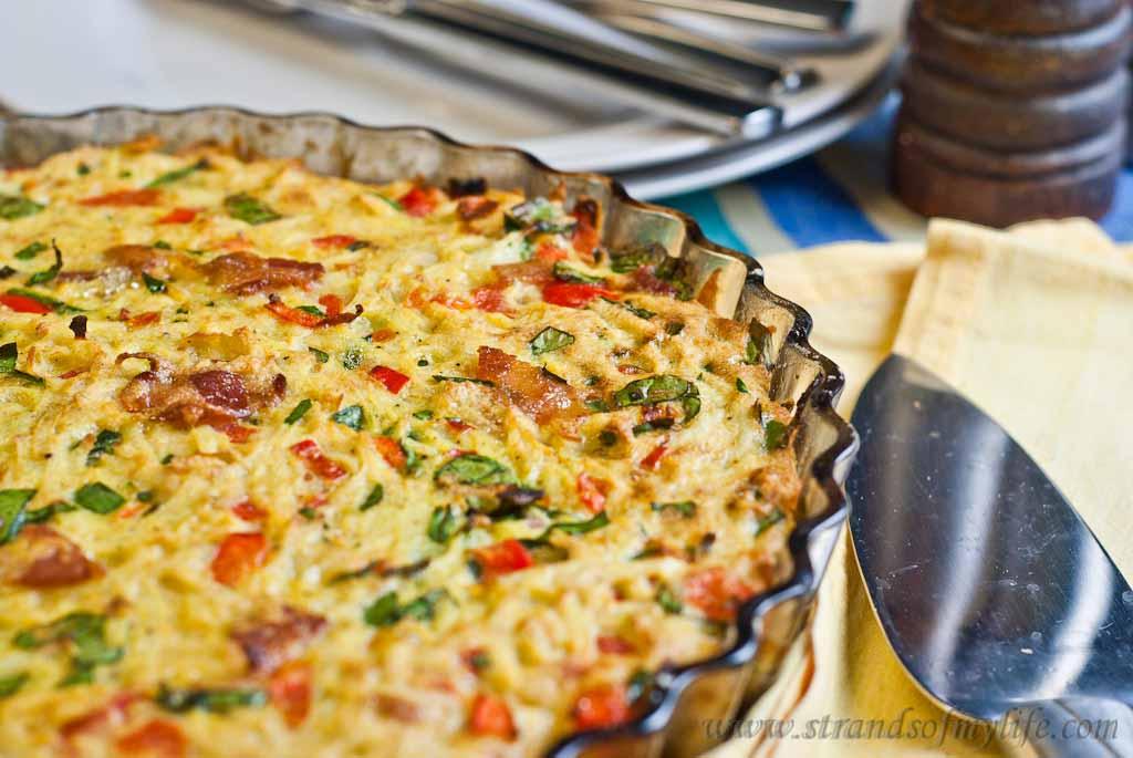 Spicy Potato Pie - Low Fodmap and Gluten-free