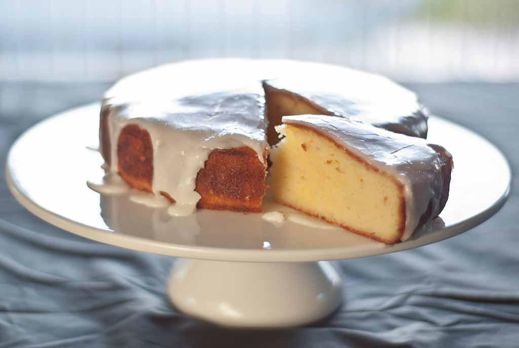 Low Fodmap Lemon Potato Cake